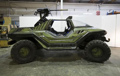 Warthog creado por Weta Workshop para el trailer de Halo 3
